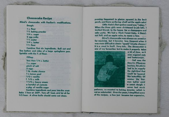 Light and Flaky: Portrait of the Artist's Mother: A Cookbook